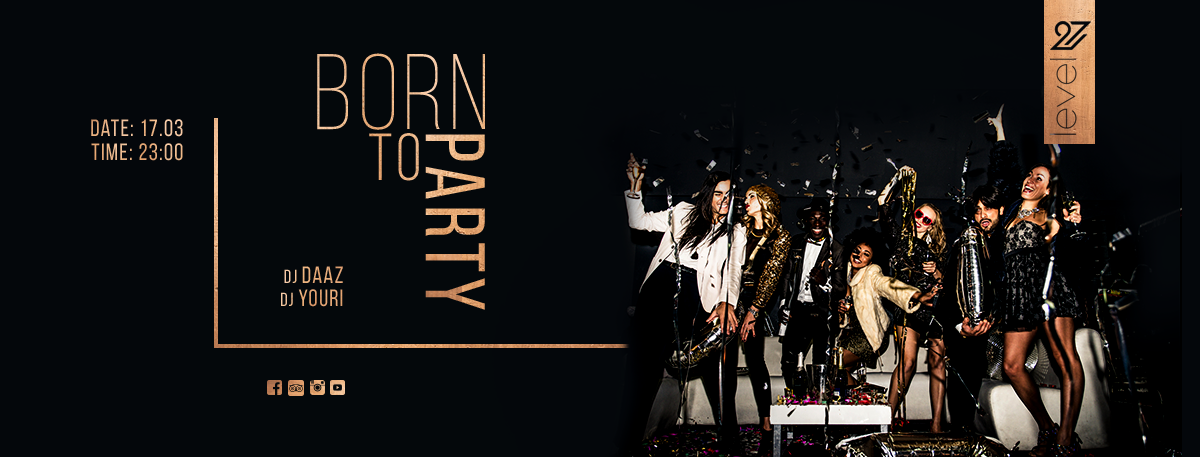 Born to party / DJ Daaz & DJ YouRi