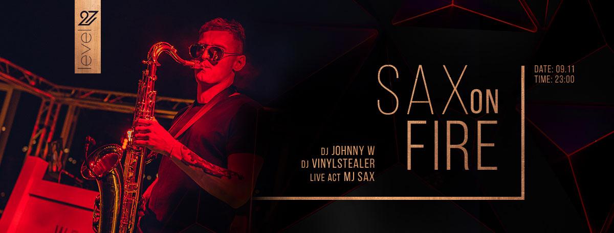 Sax On Fire !