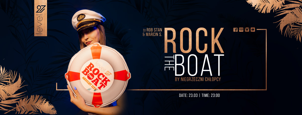 Rock The Boat / DJ Rob Stan & Marcin S.
