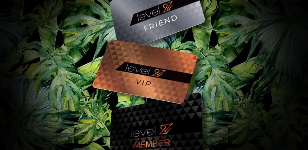 karty klubowe level 27